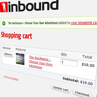 Inbound Records Online Store