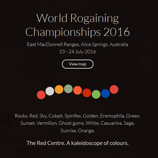 World Rogaining Championships Temporary Home Page