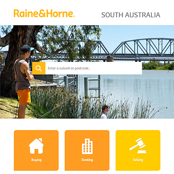 Raine & Horne website refresh