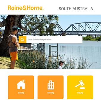 Raine & Horne website refresh